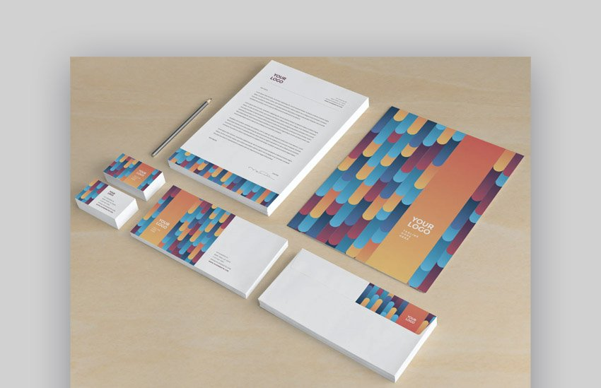 professional stationery templates