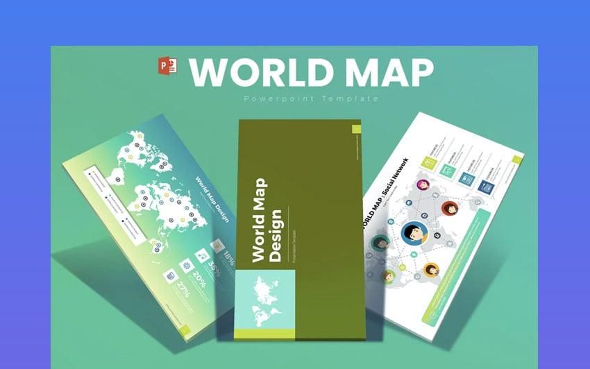 World Map PowerPoint Presentation