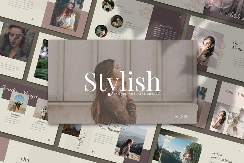 stylish powerpoint design