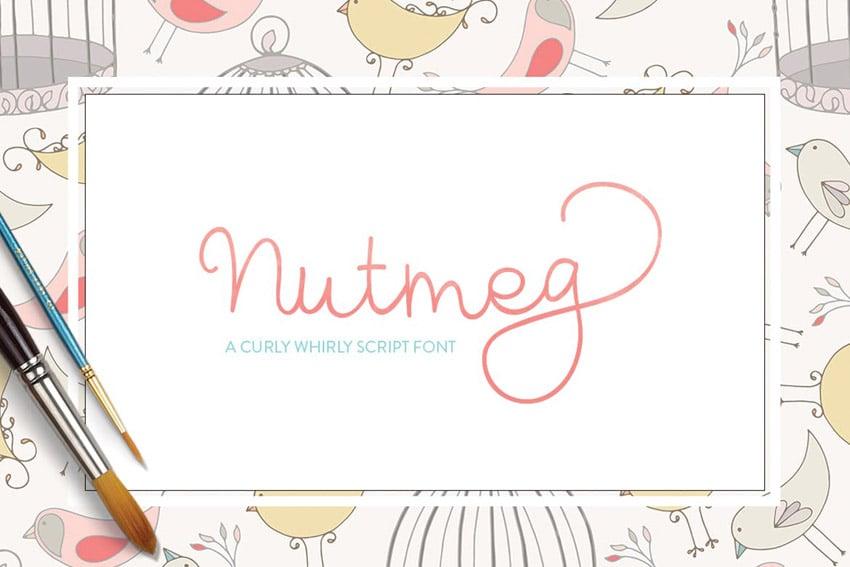 Nutmeg Font