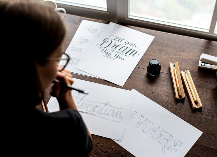 fonts artwork