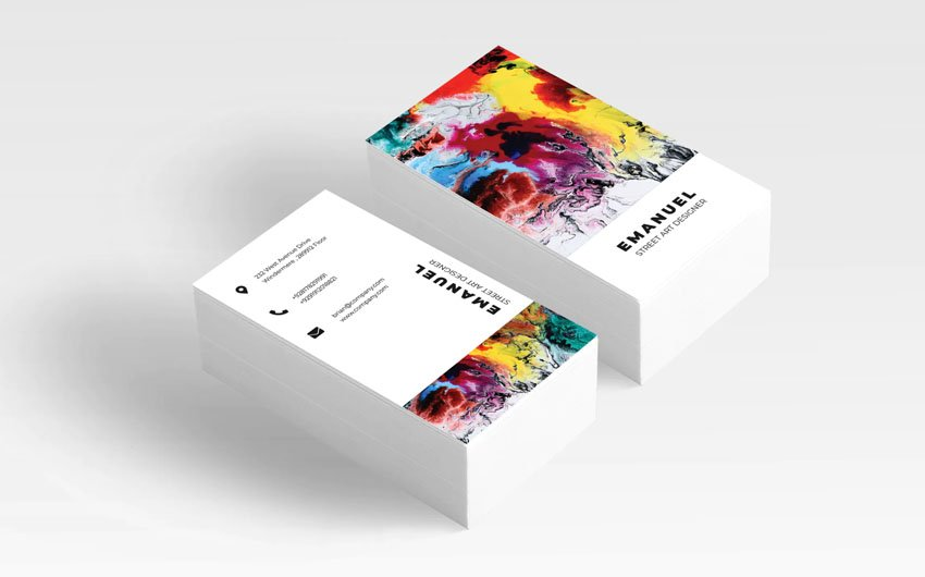 Business Card Template Affinity Designer