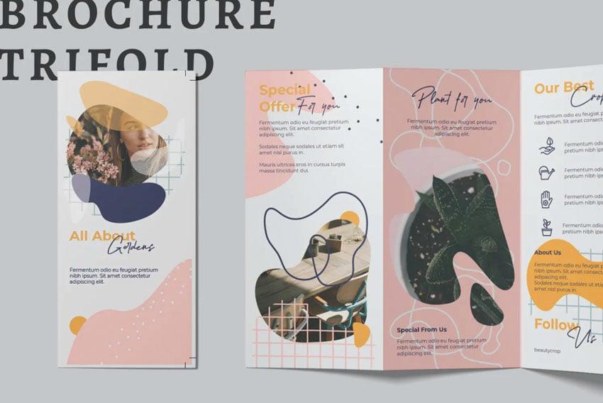 Trifold Affinity Designer Brochure Templates