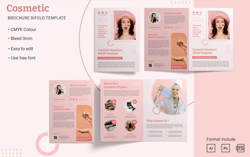 Bifold Affinity Designer Brochure Templates