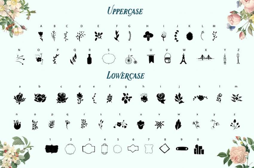 LONSSA ORNAMENT - cute symbol v.2