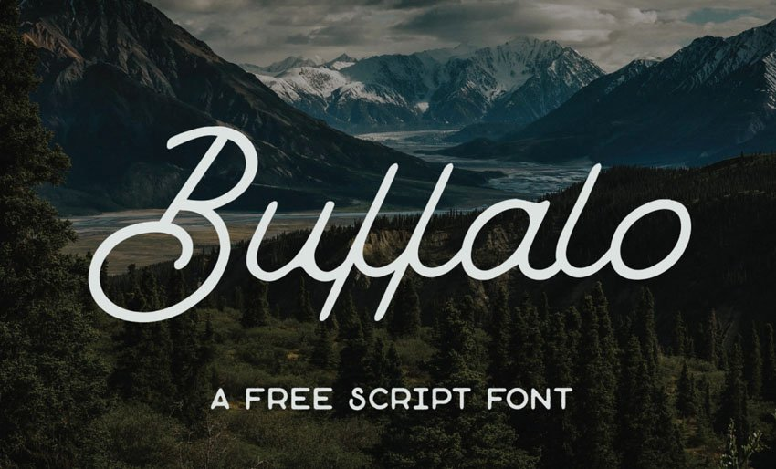 script font silhouette