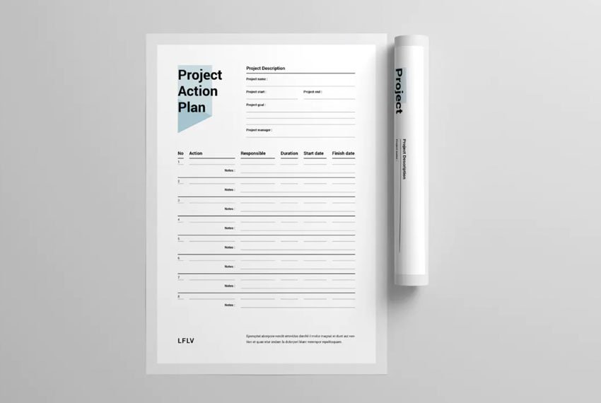 project plan to do list word
