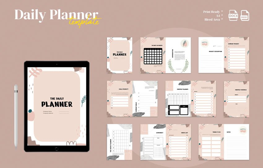 planner to do list template