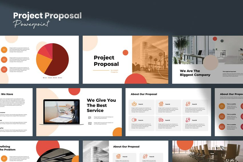 Project Proposal Template Powerpoint