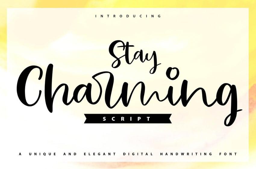 Stay Charming (Popular Handwriting Fonts)