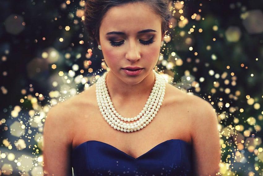 sparkle dress action