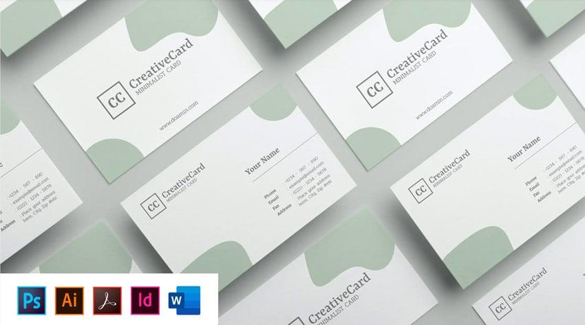 card template