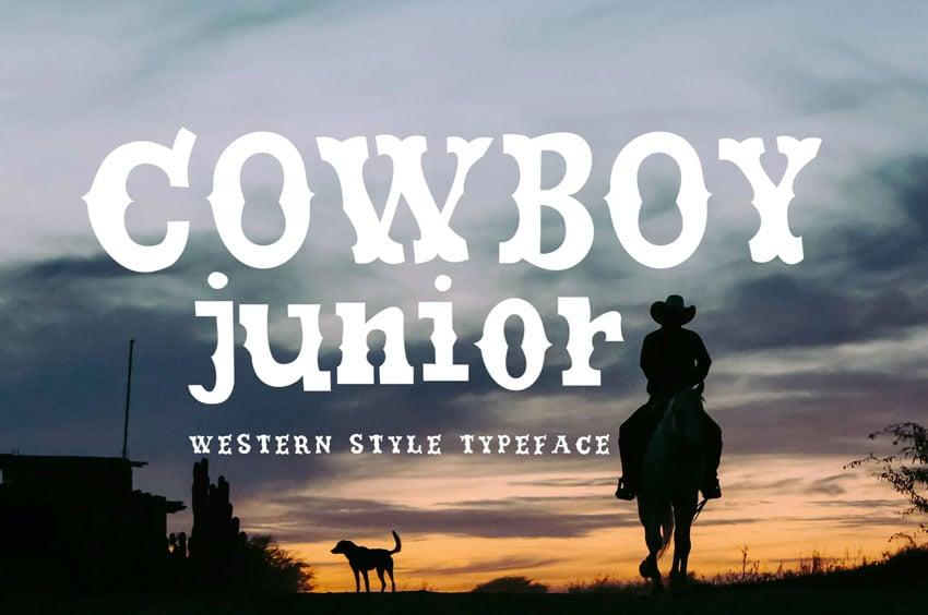Cowboy Junior Font