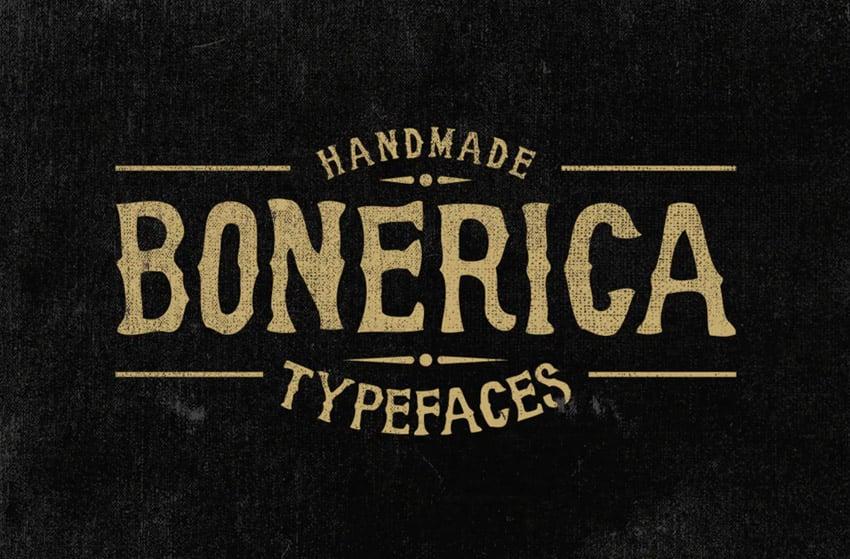 Bonerica Typeface