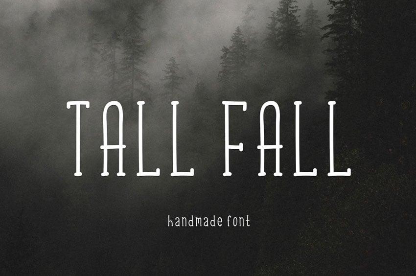 Tall Fall Font