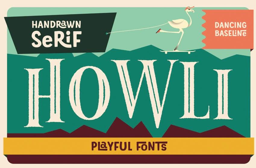 Howli Playful Serif Font