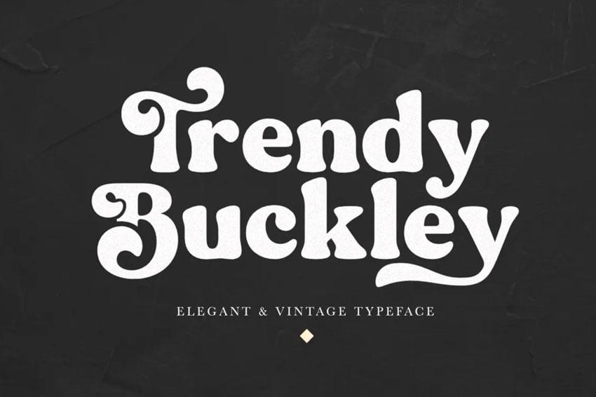 rounded serif font