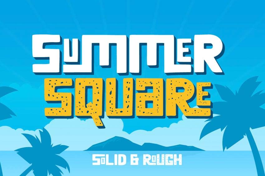 Summer Square Font