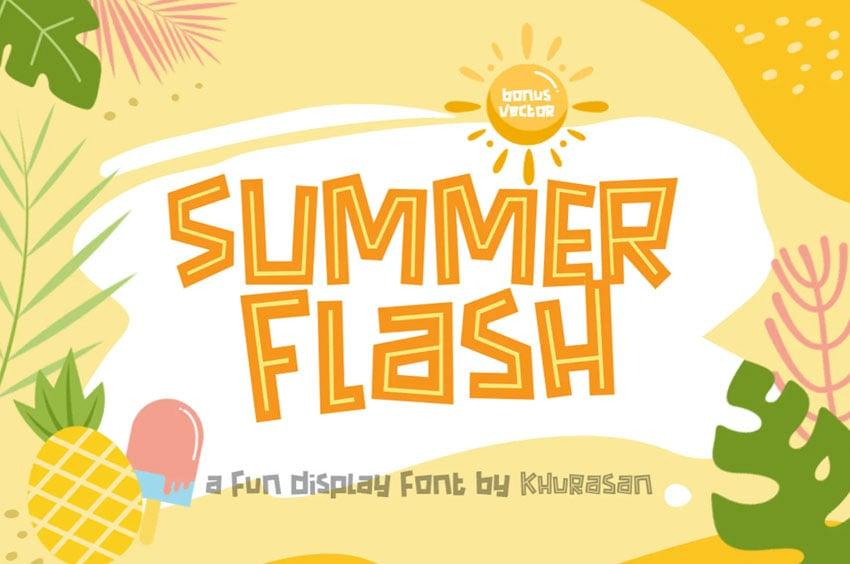 Summer Flash Font