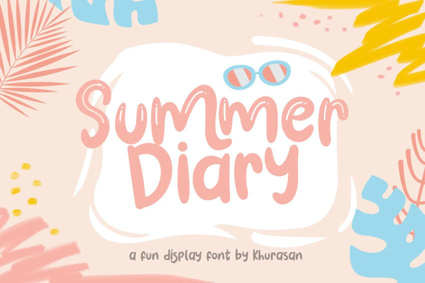 Summer Diary Font