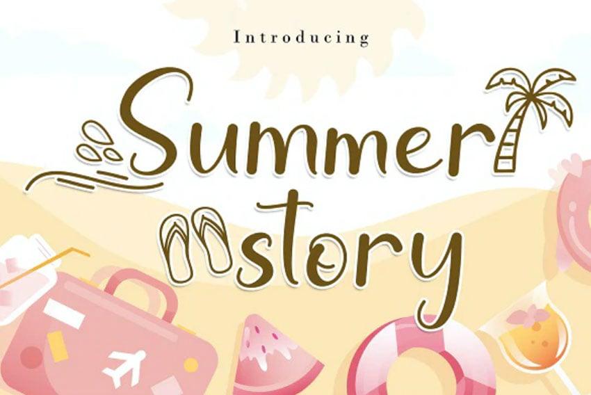 Summer Story Font