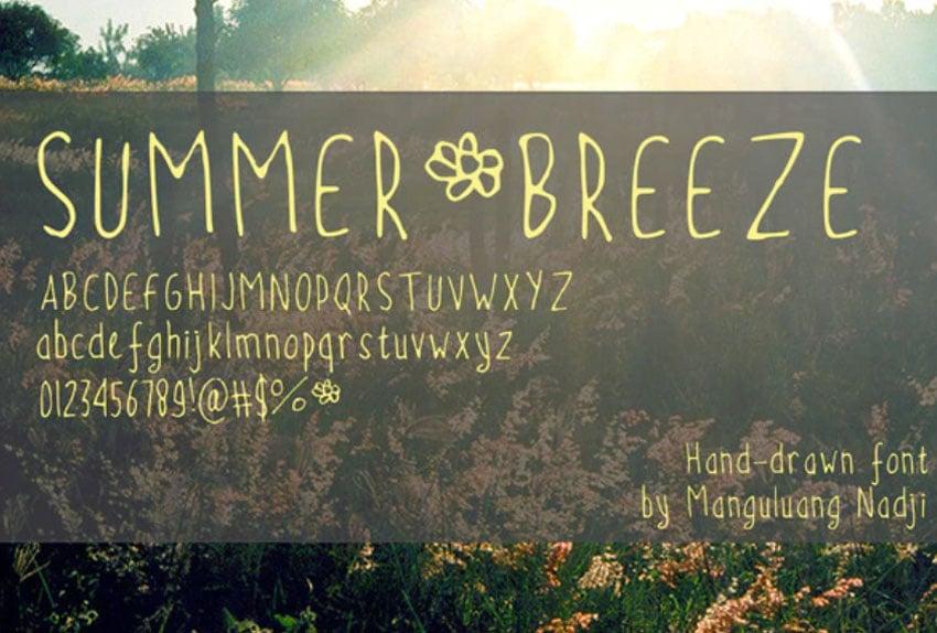 Summer Breeze Font