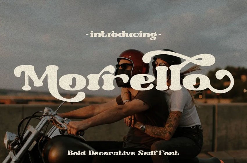 Morrello Bold Serif Font