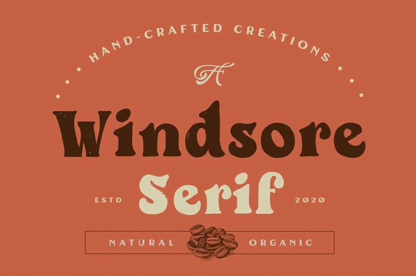 Windsore Rounded Serif