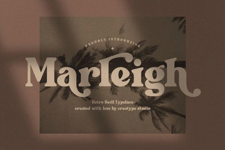 Marleigh Retro Serif