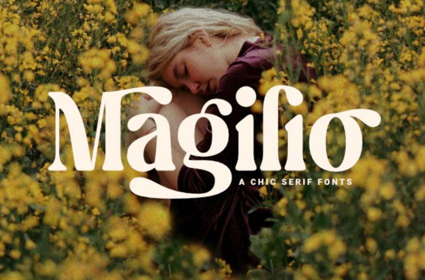 Magilio Chic Serif Font
