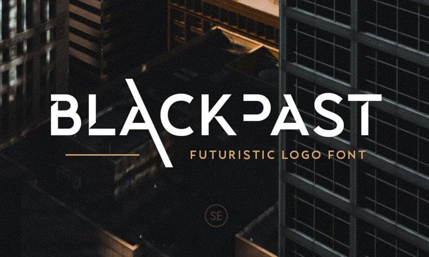 Blackpast Futuristic Logo Font