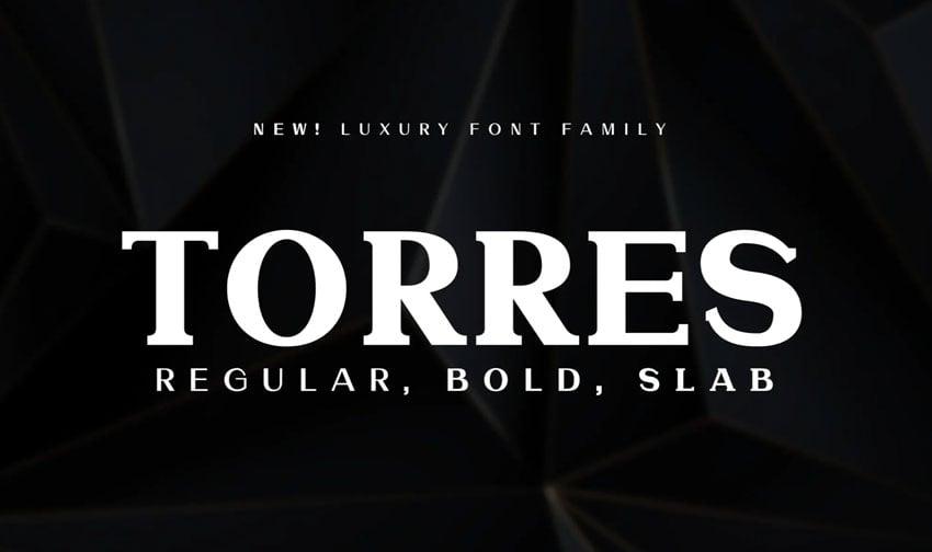 Torres Font Family