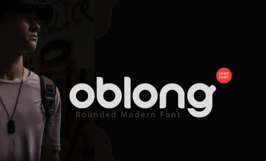Oblong Logo Design Font