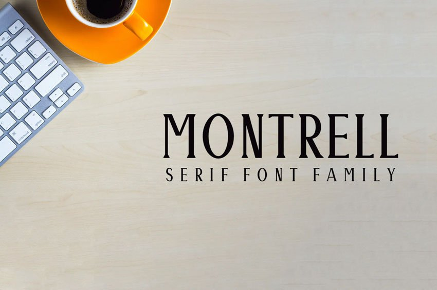 Montrell Serif Font Family Pack