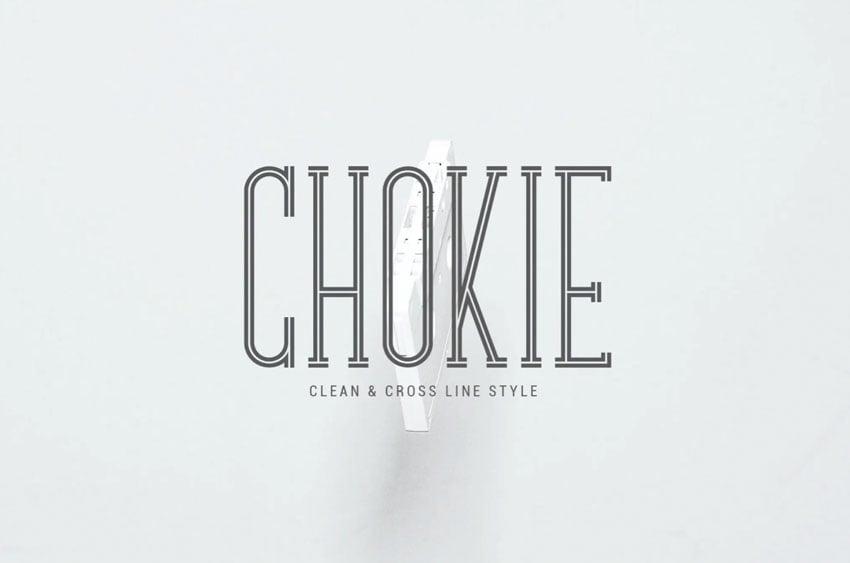 Chokie Serif Font