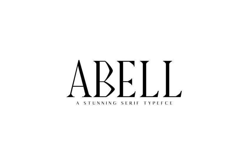 Abell Serif Font Family Pack