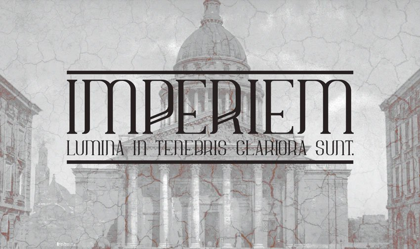 Imperiem Regular Typeface