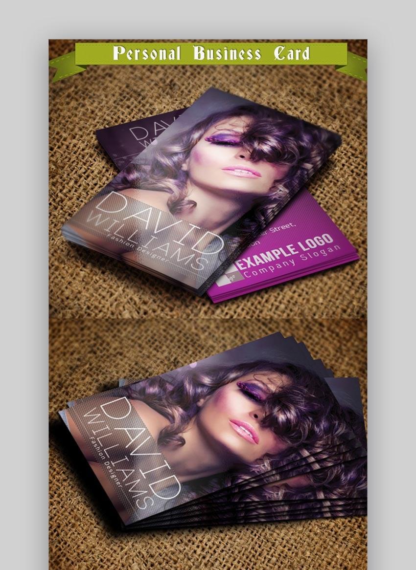 Name Fashion Business Card