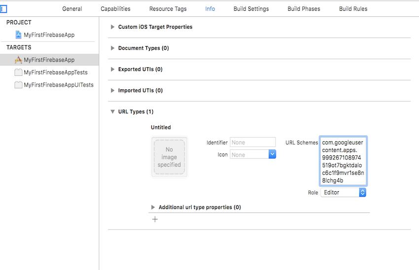 URL Types Settings