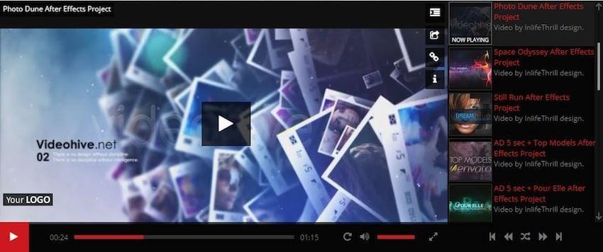Elite Video Player plugin