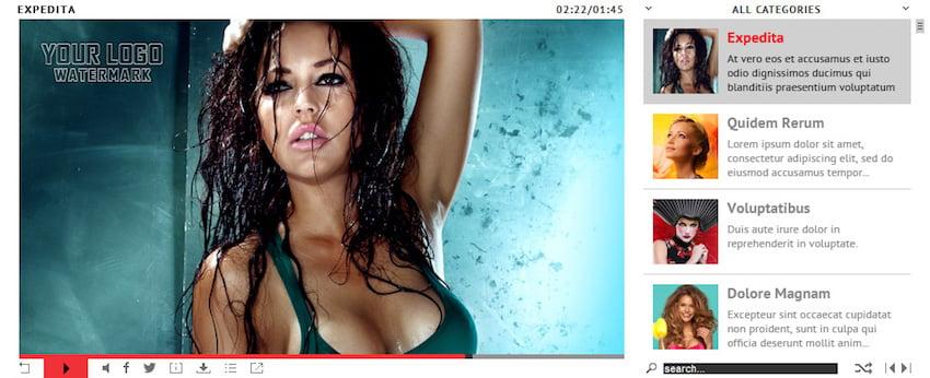 HTML5 Video Player plugin