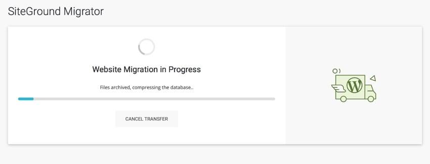 migration progress