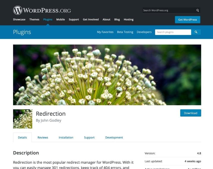 WordPress Redirect Tutorial Redirection plugin