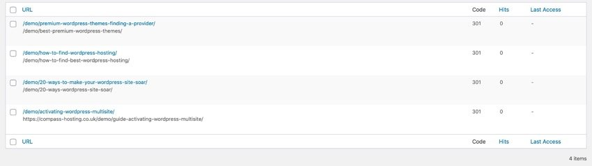 Link Redirect Maker Plugin Tutorial redirection - multiple slugs