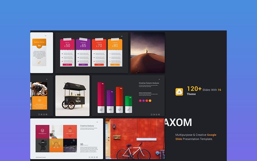 Axom Google Slide Themes