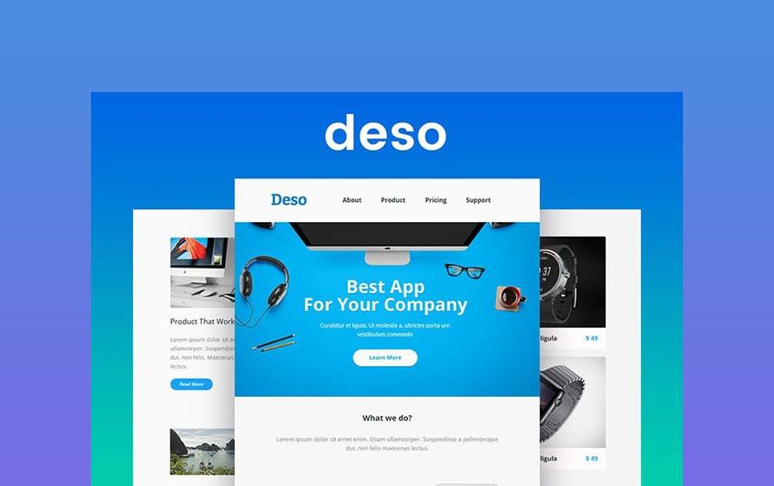 Deso - Campaign Newsletter Templates