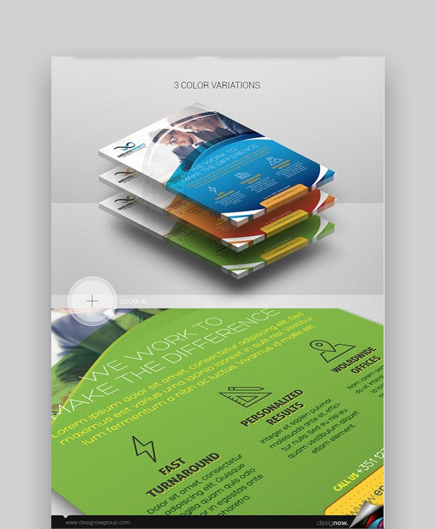 Flyer and Poster  Endless Infinity Flyer Design