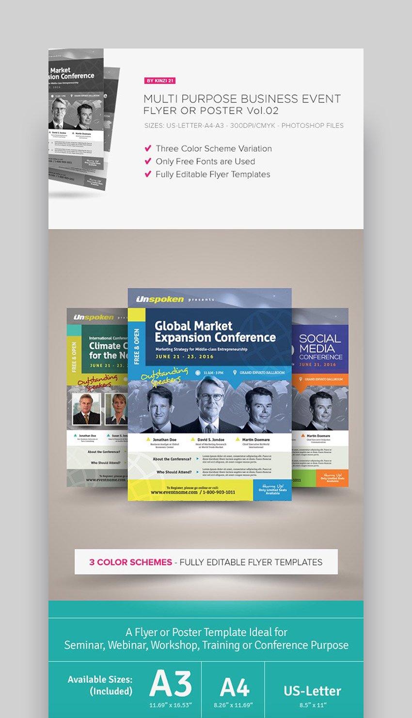 Multi-Purpose Advertising Business Event Flyer