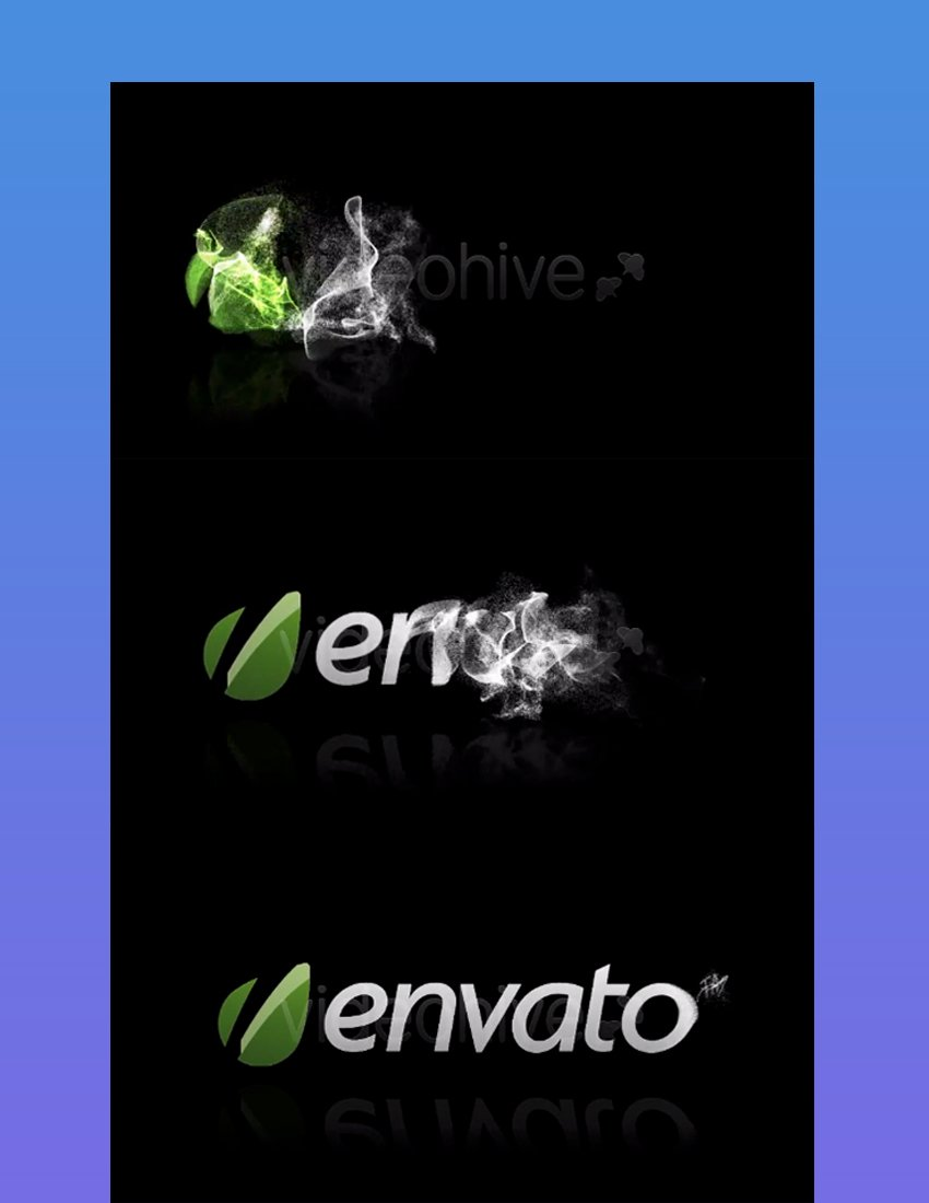 Particle After Effects Logo Reveal