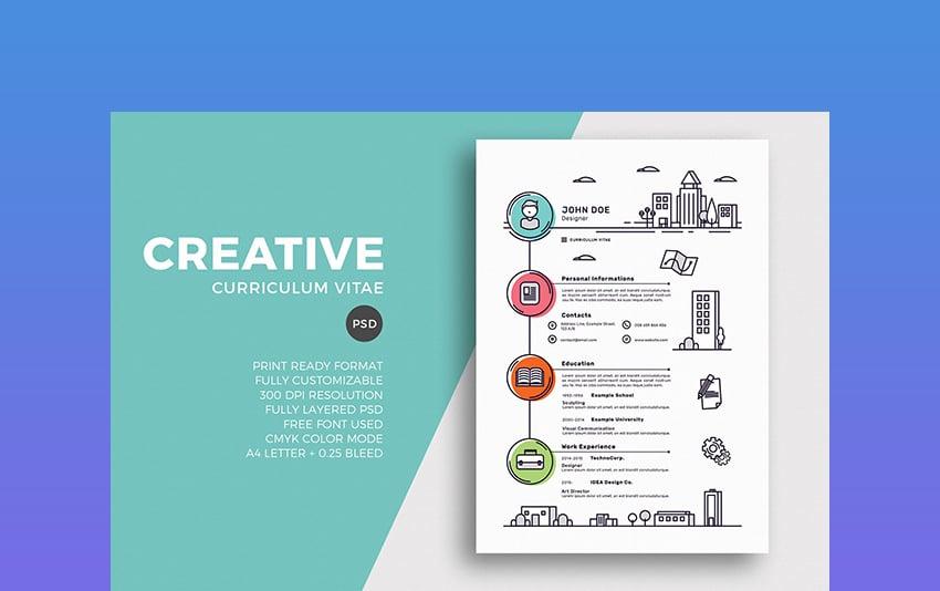 Illustration - Creative Resume Template